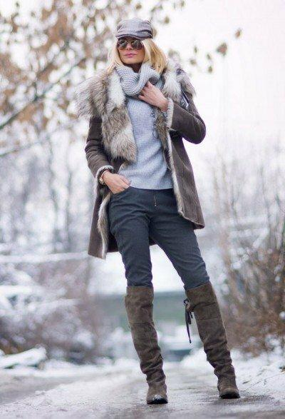 6 вариантов «молодящей» верхней одежды для женщин после 50 лет