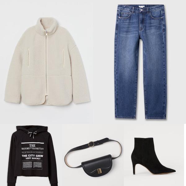 """8 стильных, готовых образов из """"H&M"""" и """"Ostin"""""""