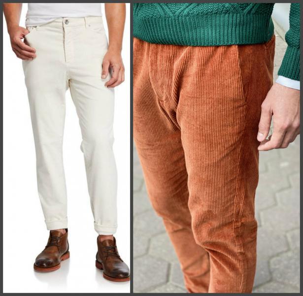 Брюки и пиджаки. Как правильно носить вельвет в мужском образе