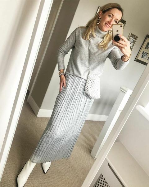 Гармония стиля: Модные образы для женщин 40+
