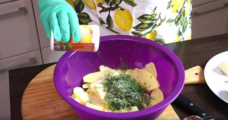 Картофельный мильфей. Теперь навсегда в моей коллекции рецептов.