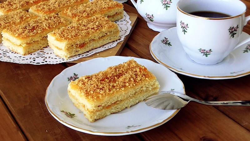 Песочные Пирожные из детства!Очень нежное и вкусное!