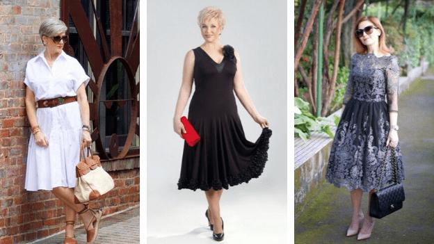 Платья для женщин после 50 лет: подборка беспроигрышных фасонов