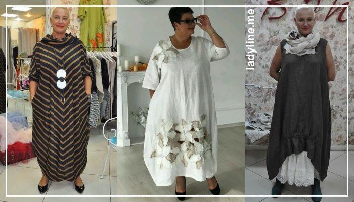 Платья в стиле бохо для полных женщин