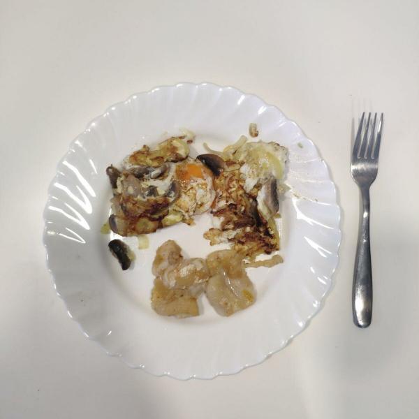 Рацион на 1050 калорий (день 53)