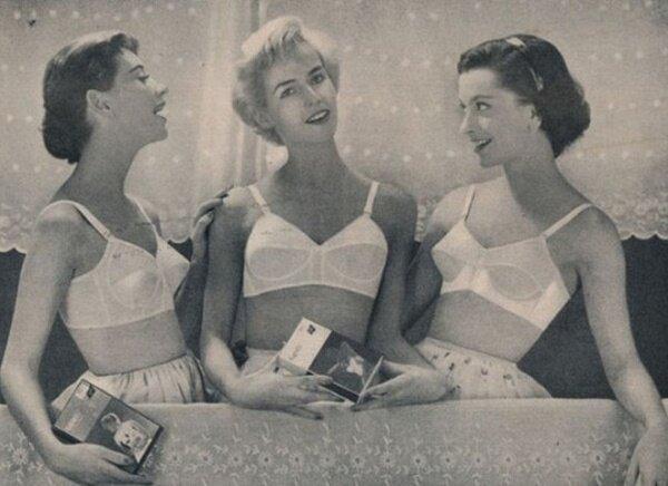 Самая первая реклама нижнего белья