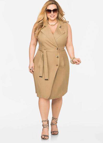 Стильные платья для полных женщин 40+