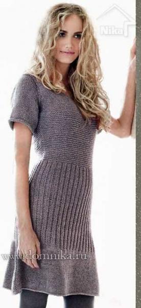 Вязаные платья. Модно, красиво, женственно.