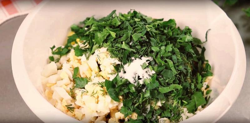 Вкусный салат за 15 минут! Когда нет времени, но очень хочется…