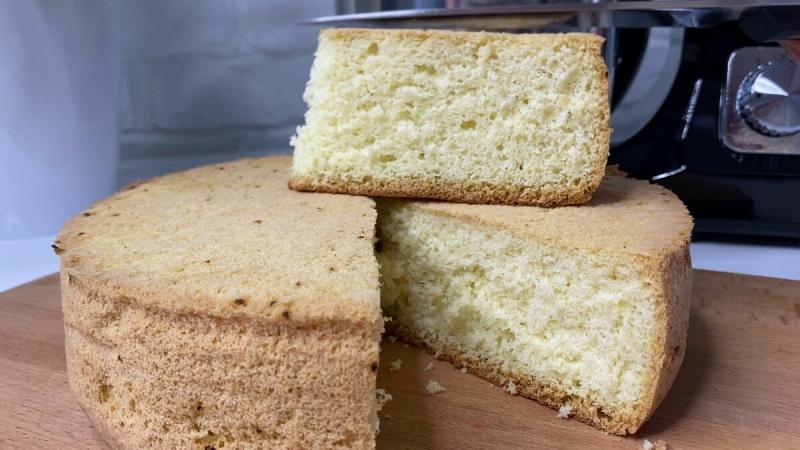7 секретов приготовления пышного бисквита