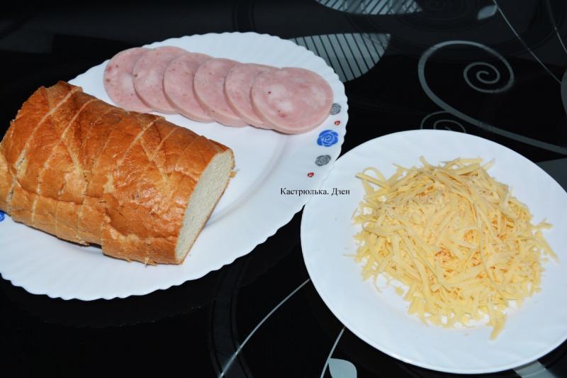 Быстрый и вкусный завтрак. Почти пицца – ничуть не хуже