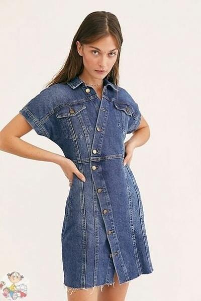 Что сшить из джинсы. Фото, образы с джинсовой одеждой.