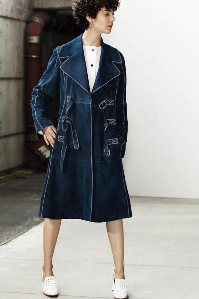 Джинсовое пальто - стильный конкурент плащу