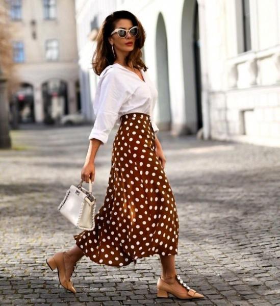 Истинная леди - как носить юбку летом, чтобы выглядеть стильно