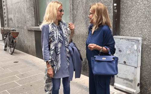 Как одеваются итальянки 50+, 60+ (наблюдаем за прохожими сеньорами)