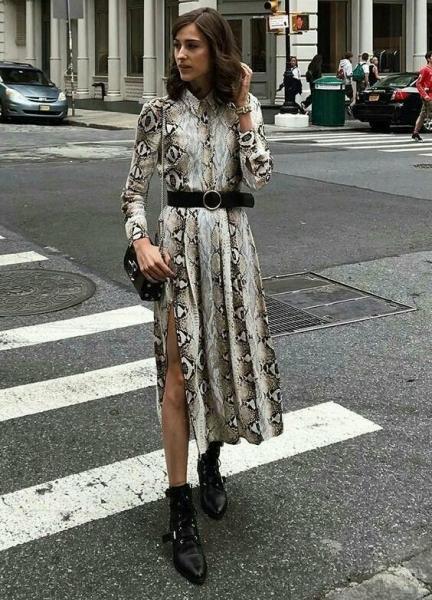 Модные платья с «изюминкой», на которые стоит обратить внимание