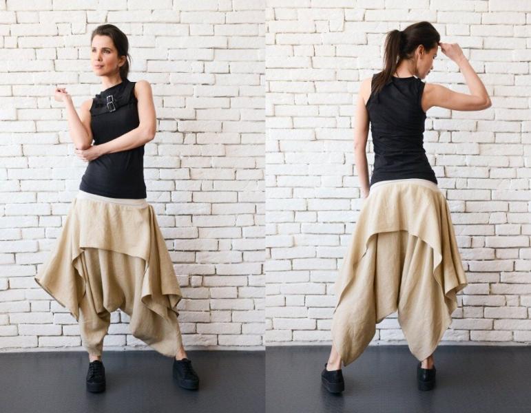 Необычные брюки в стиле Бохо: неповторимый способ самовыражения