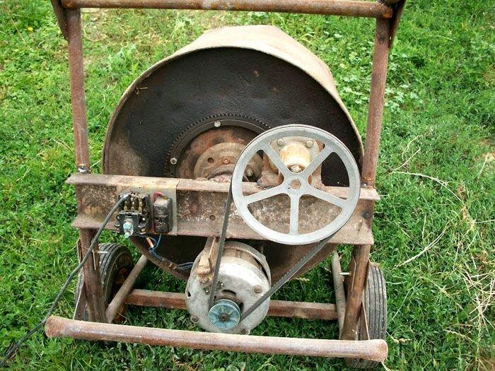 Новая жизнь старой стиральной машины