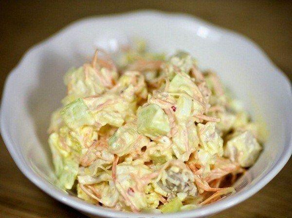 """Очень вкусный и легкий салат """"111 ккал"""""""