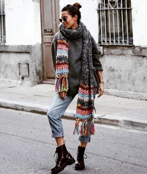 С чем носить серый цвет весной. 5 стильных образов