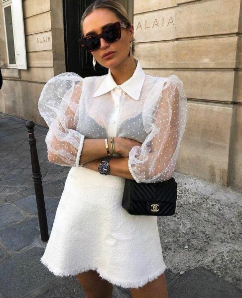 Стильные и модные образы с блузами 2020