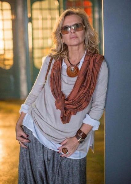 Трикотажный Бохо – шикарные фасоны для взрослых женщин