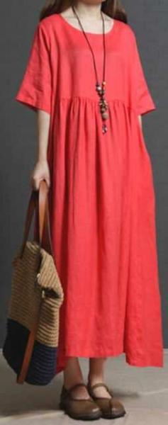 10 стильных летних платьев для пышных дам (свободные фасоны)