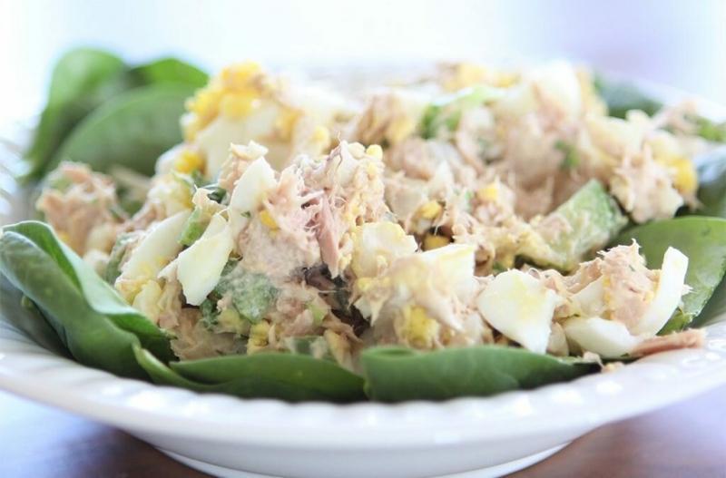 Белковые салаты для похудения и сушки тела: рецепты ПП