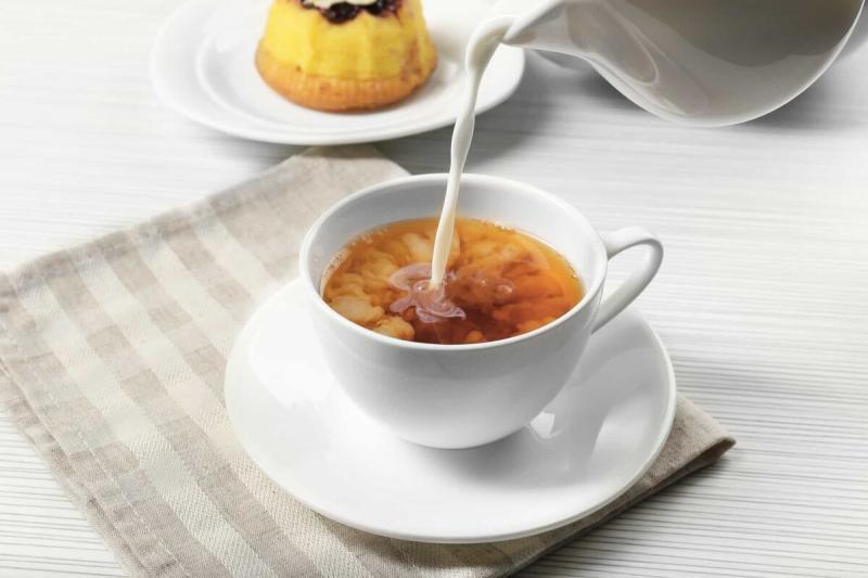 Чай с молоком для похудения - минус 2 кг за 1 день