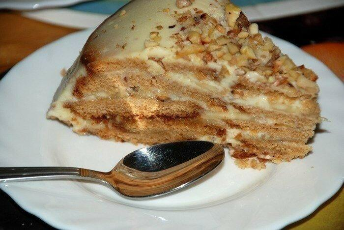 Делаю торт просто и быстро. Без всякой выпечки.