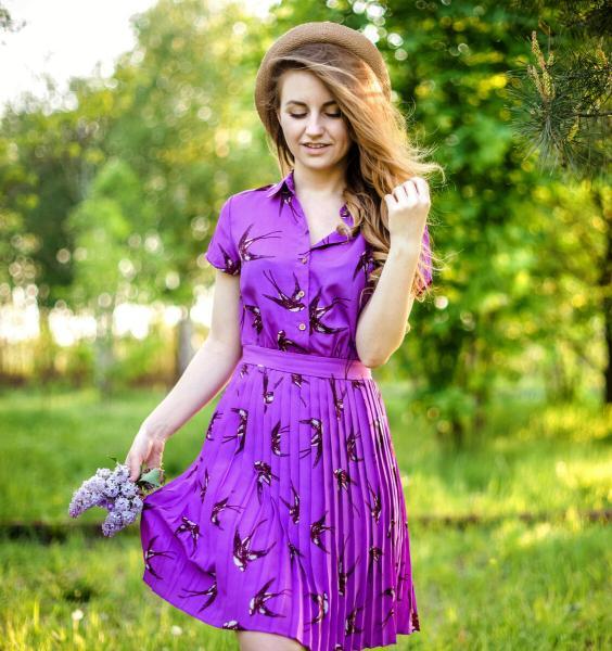 Два платья из секонда для весенней фотосессии