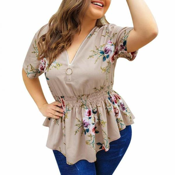 Фасоны блузок для полных женщин, как скрыть лишние килограммы