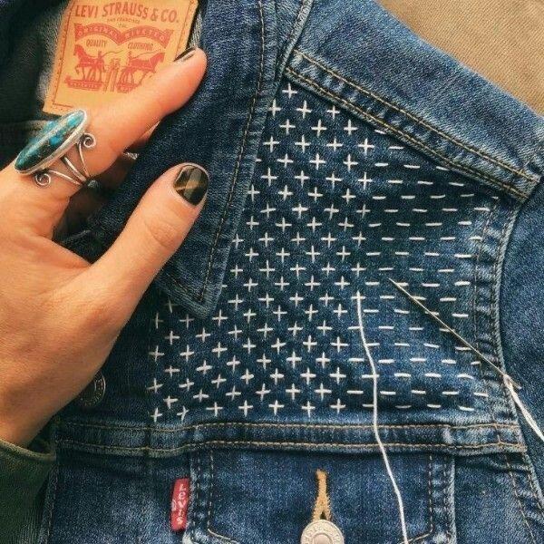 Из старых джинсов-трендовую вещь пока сидим дома