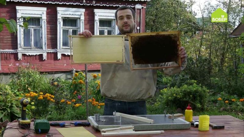 Как правильно собрать пчеловодческую рамку