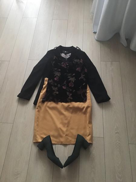 Как удлинить старую юбку?
