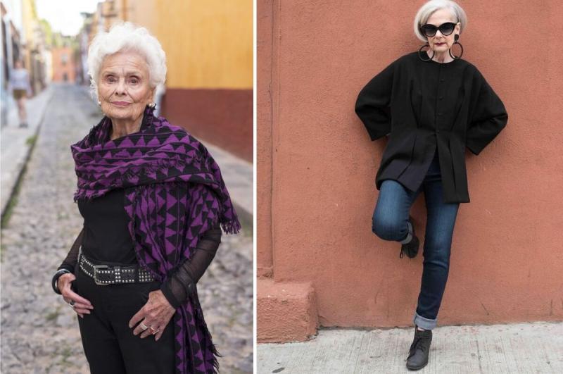 Какие вещи никогда не наденут стильные и модные бабушки