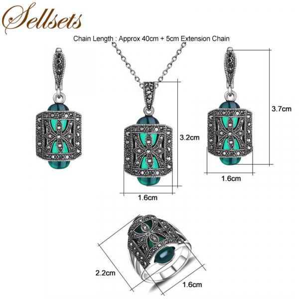 Комплекты украшений в винтажном стиле с AliExpress