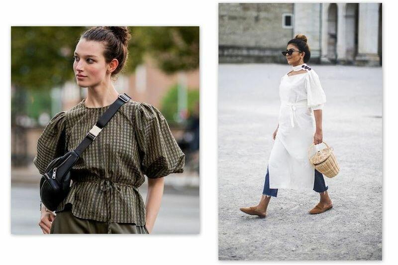 Модные рукава-фонарики - как и из чего шить?