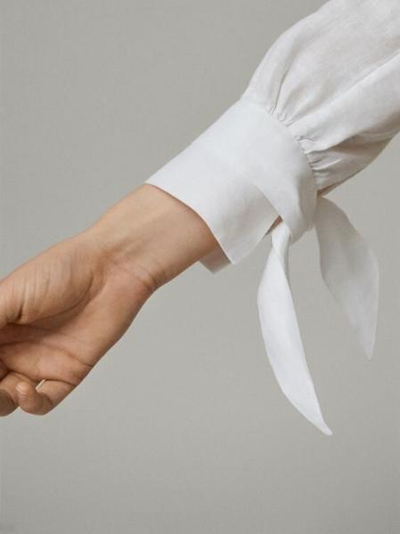 Нескучные блузки. Акцент на рукава.
