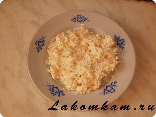 Закуска «Из крабовых палочек»