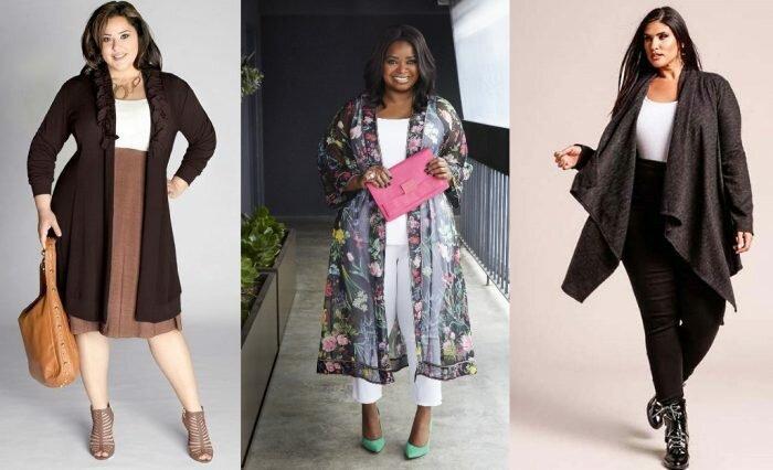 5 модных идей на весну для полных женщин