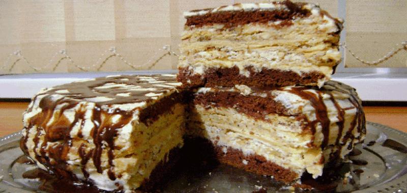 Бесподобный торт – устоять невозможно.