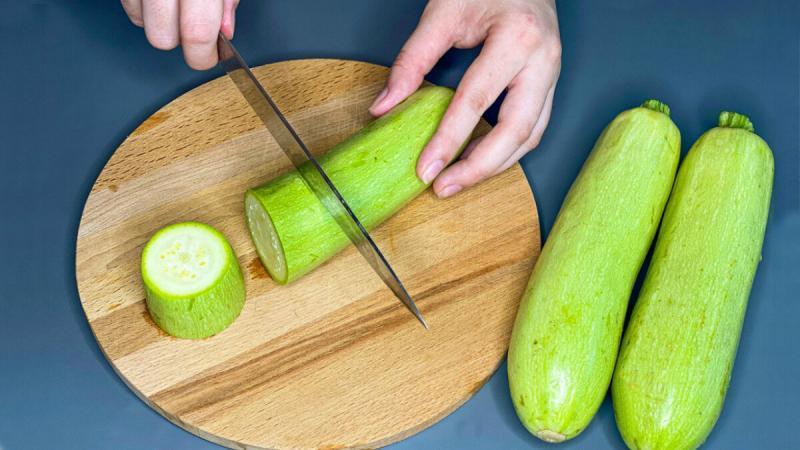 Еще один интересный рецепт из кабачков