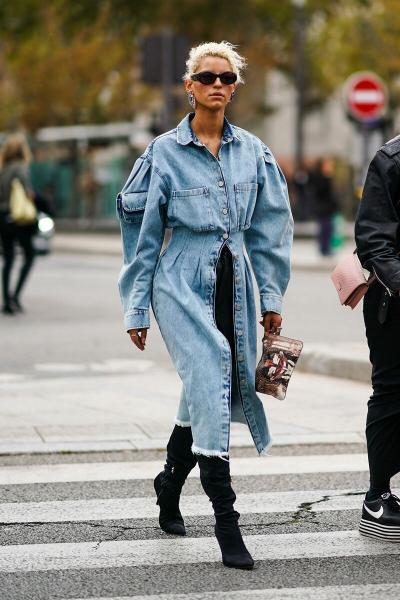Модный деним 2020: стильные образы с джинсовыми вещами
