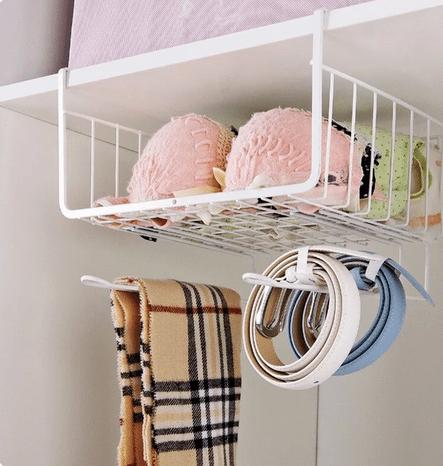 Нет места для хранения в шкафу? Вот вам идеи.