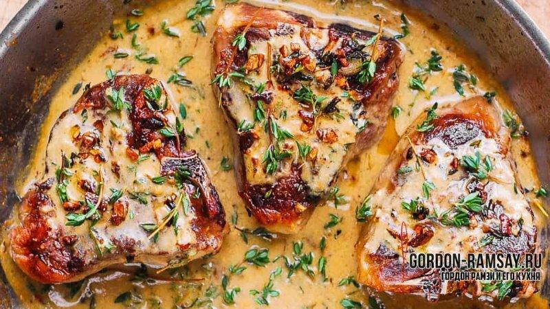 Рецепт пряной баранины с овощами от Гордона Рамзи.