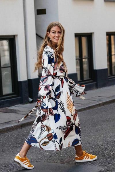 Сама нежность: что такое чайное платье и с чем его носить?