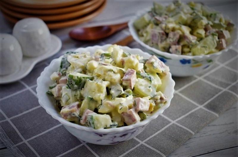 Самый быстрый и вкусный салат.