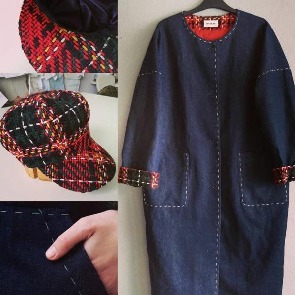 Шляпка к пальто или платью - быстрое решение!