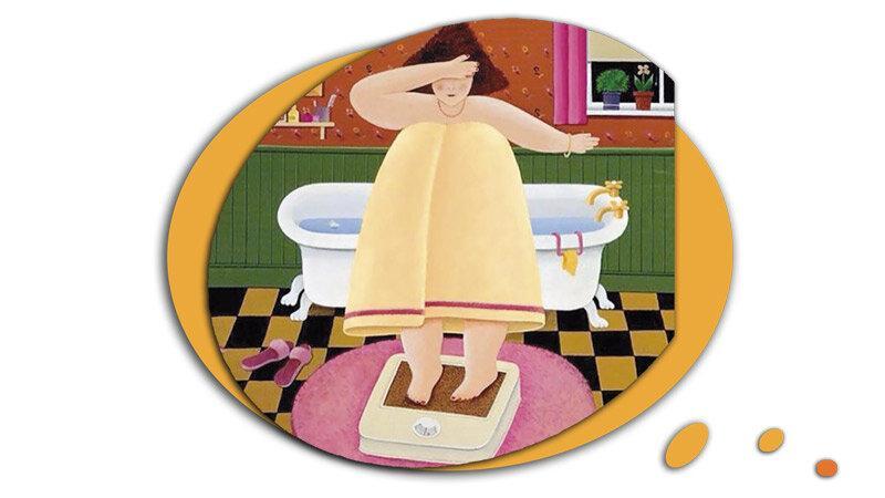 5 смешных стихов про обжорство и похудение